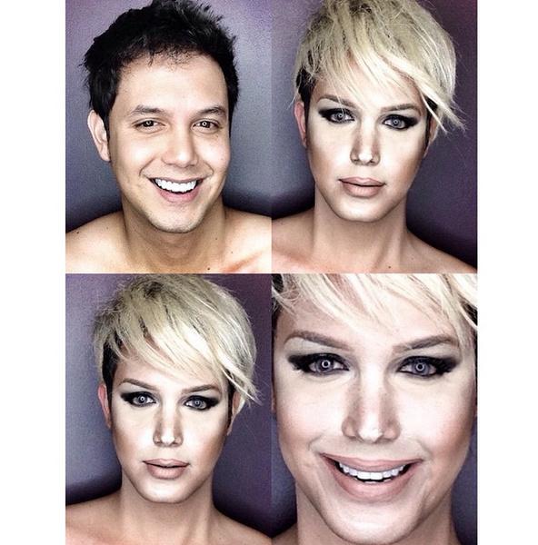Филиппинский визажист перевоплотился в звезд с помощью макияжа | галерея [1] фото [5]