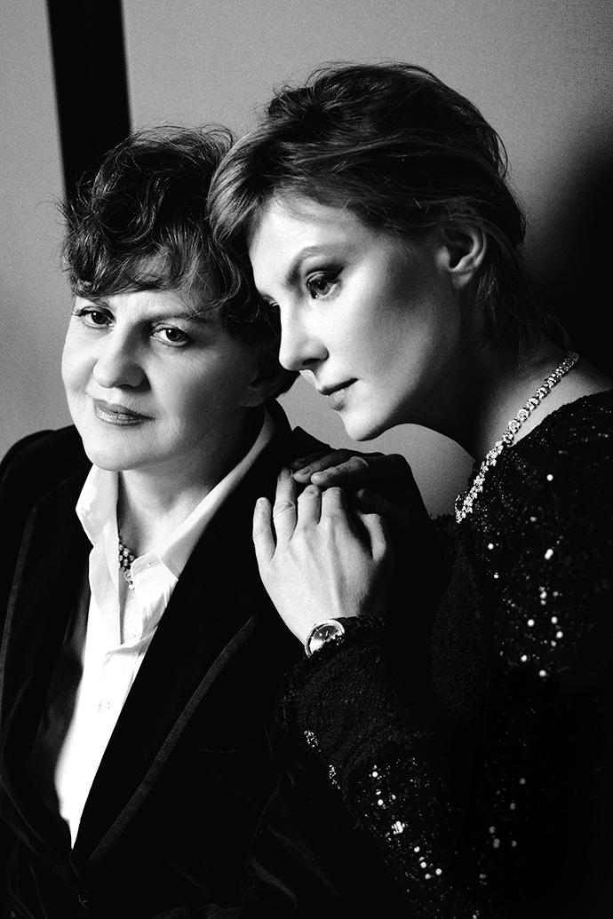 Рената Литвинова с мамой