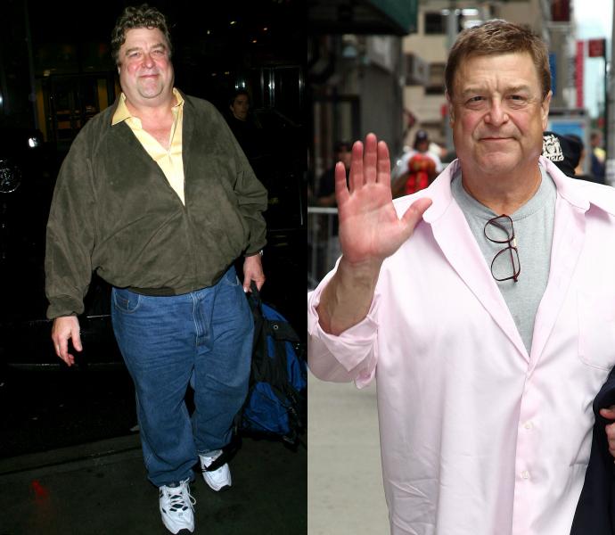 Джон Гудман толстый, похудел фото до после