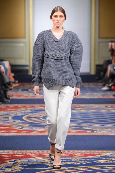 Показ осенне-зимней коллекции Ruban на Mercedes-Benz Fashion Week RussiaПоказ осенне-зимней коллекции Ruban на Mercedes-Benz Fashion Week Russia | галерея [2] фото [29]