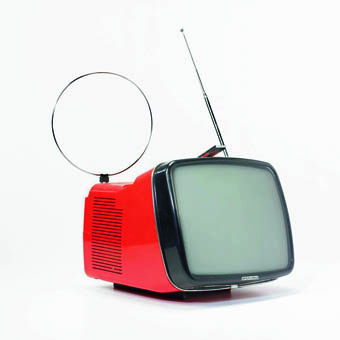 Ретро-телевизор, Brionvega, техника, дизайн
