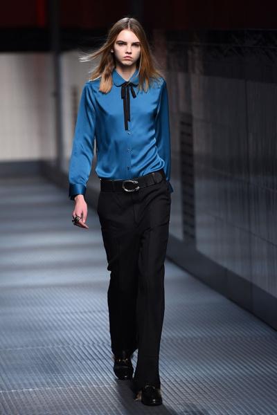 ПокаПоказ Gucci на Неделе моды в Миланез Gucci на Неделе моды в Милане | галерея [1] фото [33]