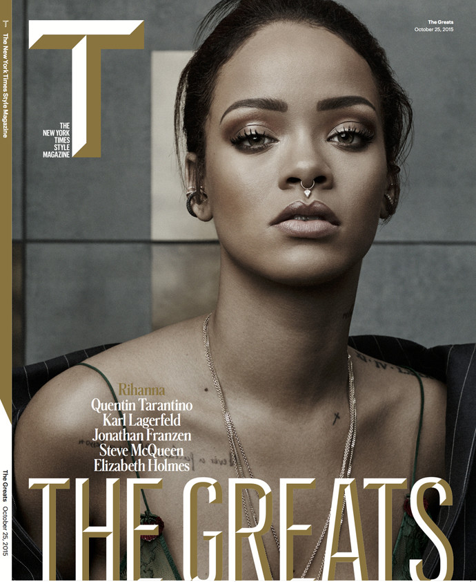 Обложка журнала T Magazine, фотограф Craig McDean
