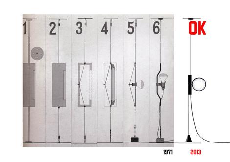 Знаменитые светильники IC Lights и OK Lamp марки Flos | галерея [1] фото [1]
