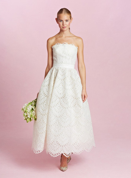 12 коротких платьев для невесты | галерея [1] фото [9]