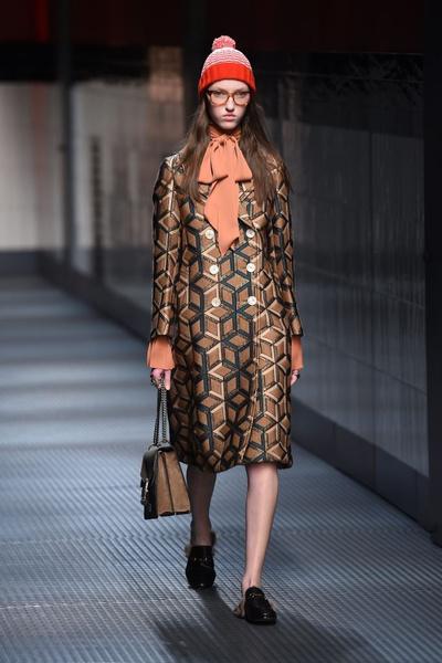 Показ Gucci на Неделе моды в Милане | галерея [1] фото [9]