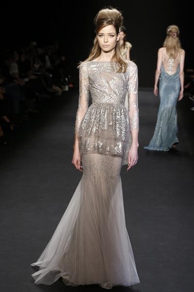 Самые роскошные вечерние платья Недели моды в Нью-Йорке | галерея [1] фото [3]