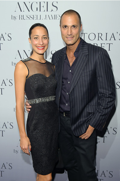 Найджел Баркер с супругой