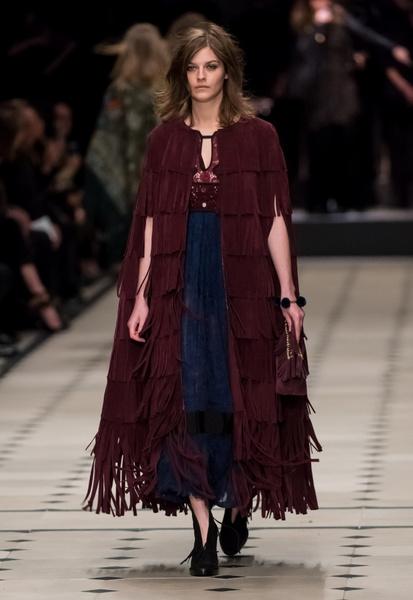 Показ Burberry Prorsum на Неделе моды в Лондоне | галерея [1] фото [35]