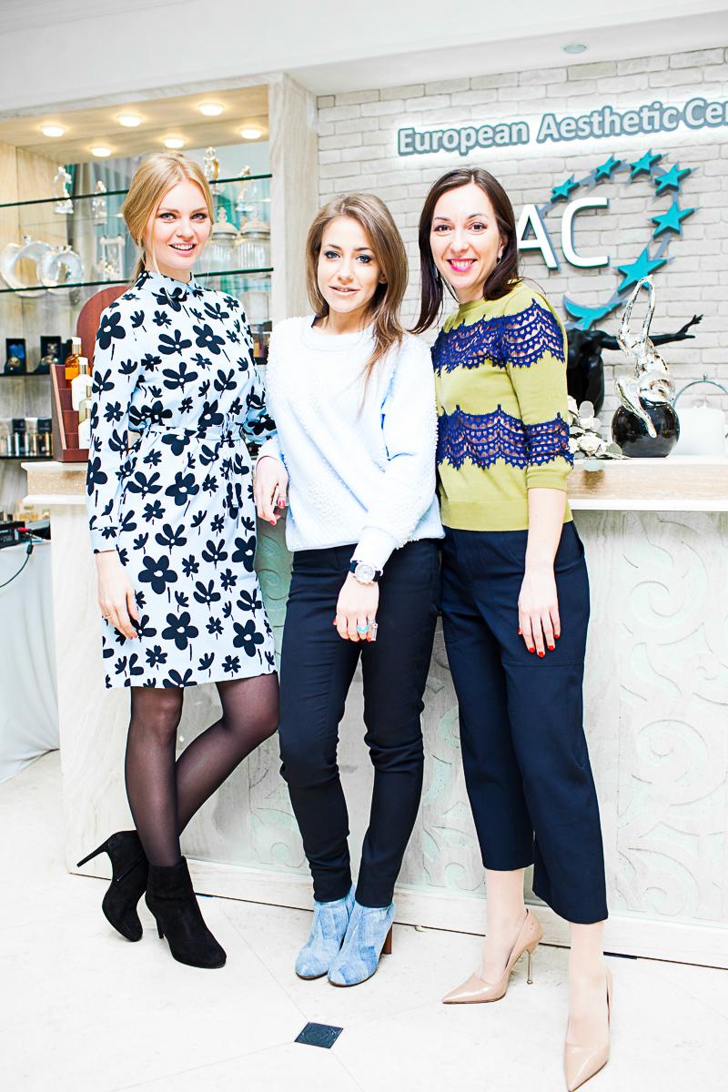 Елена Кулецкая, Юлия Барановская и Мария Лобанова