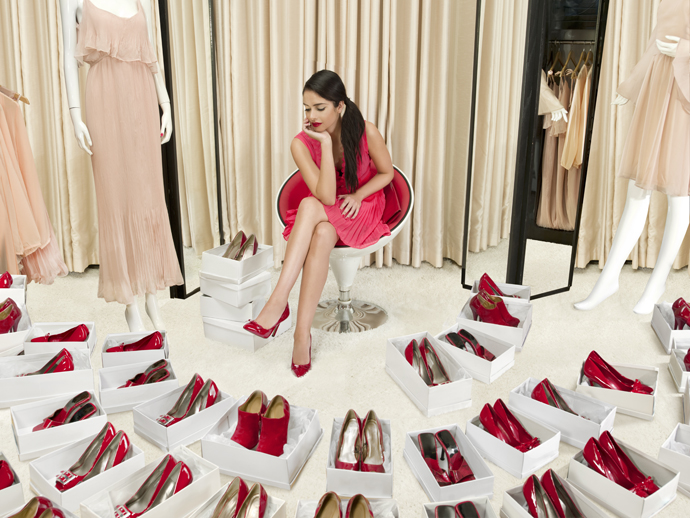 шопинг туфли
