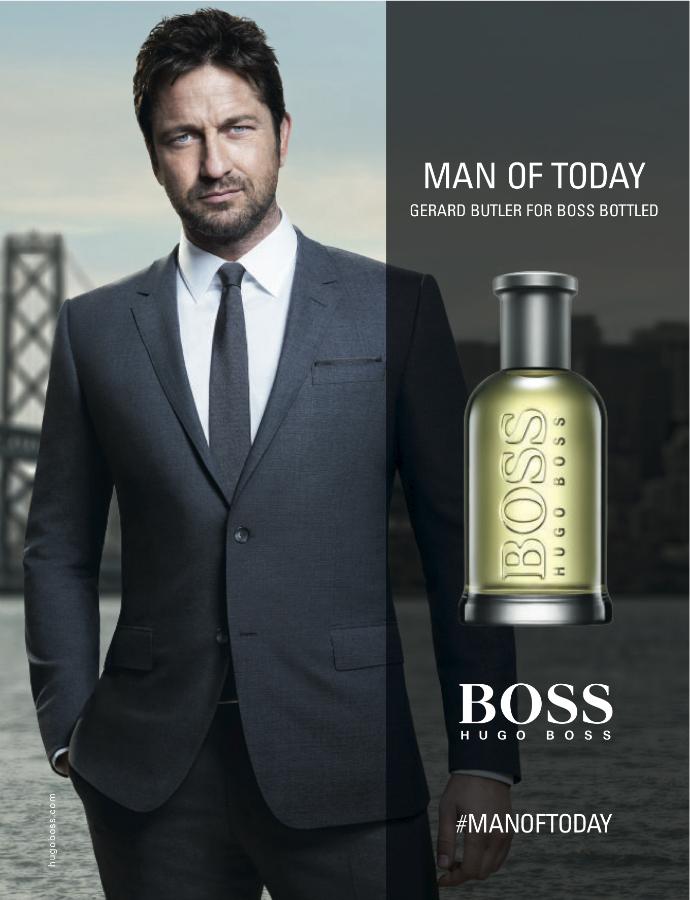 Лицом парфюма от Hugo Boss стал Джерард Батлер