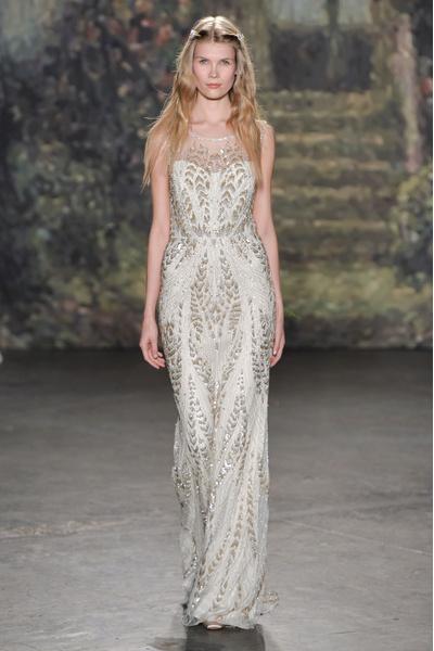 50 самых красивых платьев со Свадебной Недели Моды в Нью-Йорке | галерея [1] фото [22]