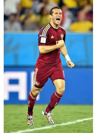 Российская сборная заработала первое очко на Чемпионате мира по футболу