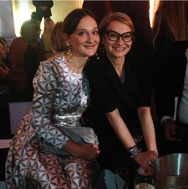 Елена Сотникова с Эвелиной Хромченко