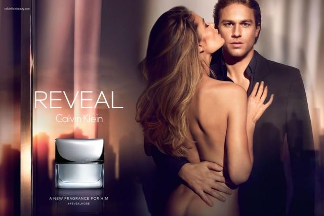 Рекламная кампания Reveal от Calvin Klein