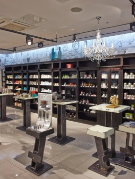 В ТЦ «Галерея Москва» открылась концептуальная аптека «Аптека+Cosmotheca»
