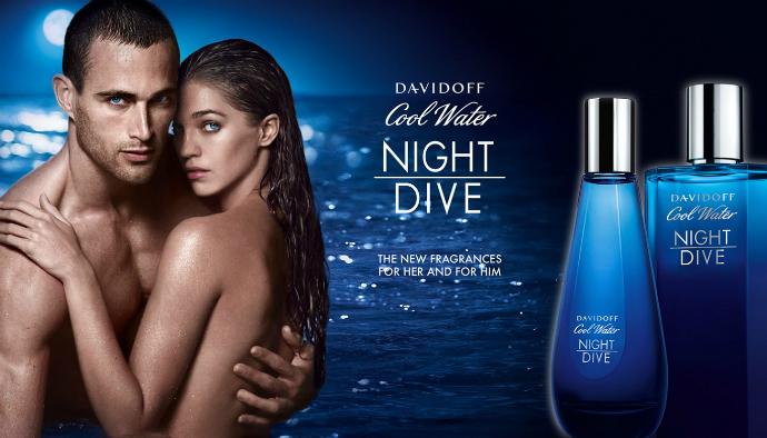Парный аромат Davidoff Cool Water Night Dive