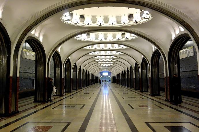 Маяковская, Москва