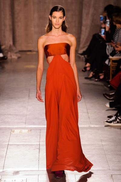 Black tie: показы Carolina Herrera, Reem Acra и Zac Posen на Неделе моды в Нью-Йорке | галерея [1] фото [9]