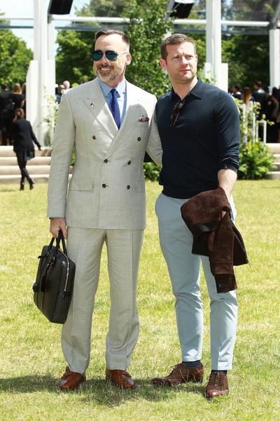 Показ Burberry Prorsum на Неделе мужской моды в Лондоне | галерея [1] фото [9]