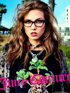 Карли Клосс для Juicy Couture