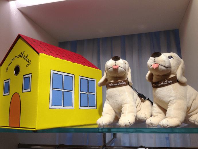 Миммо – игрушечная копия любимого и самого маленького лабрадора Стефано Габбана