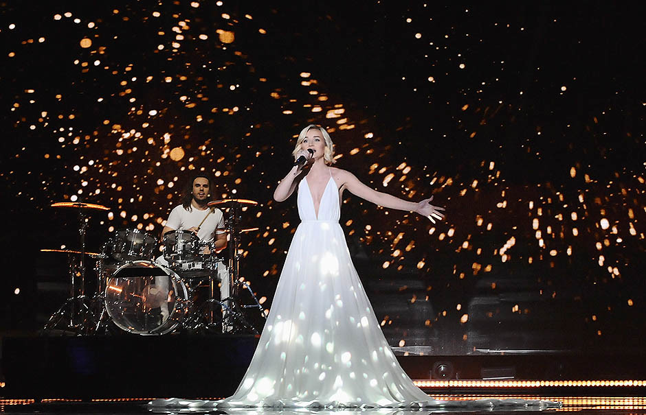Полина Гагарина на Евровидении, 2015 год