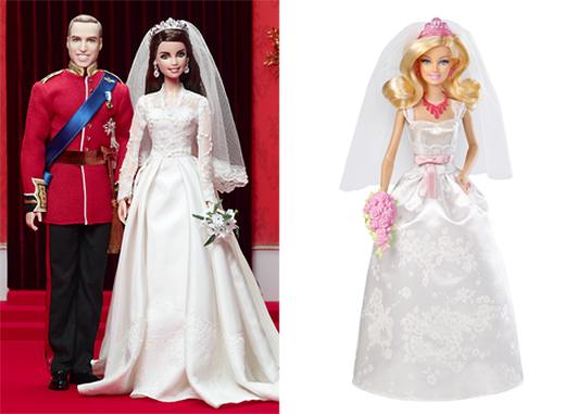 Barbie Кейт Миддлтон, Barbie Невеста короля