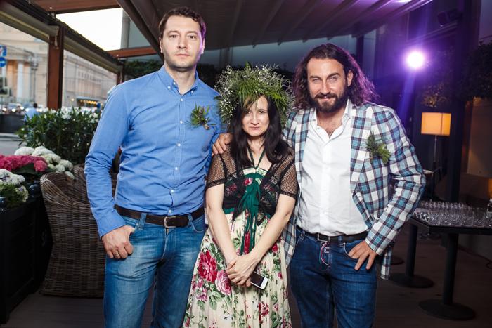 Денис Крупеня, Илона Федотова и Мирко Заго