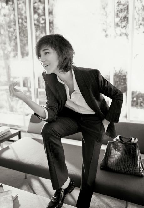 Шарлотта Генсбур снялась в рекламной кампании Gerard Darel
