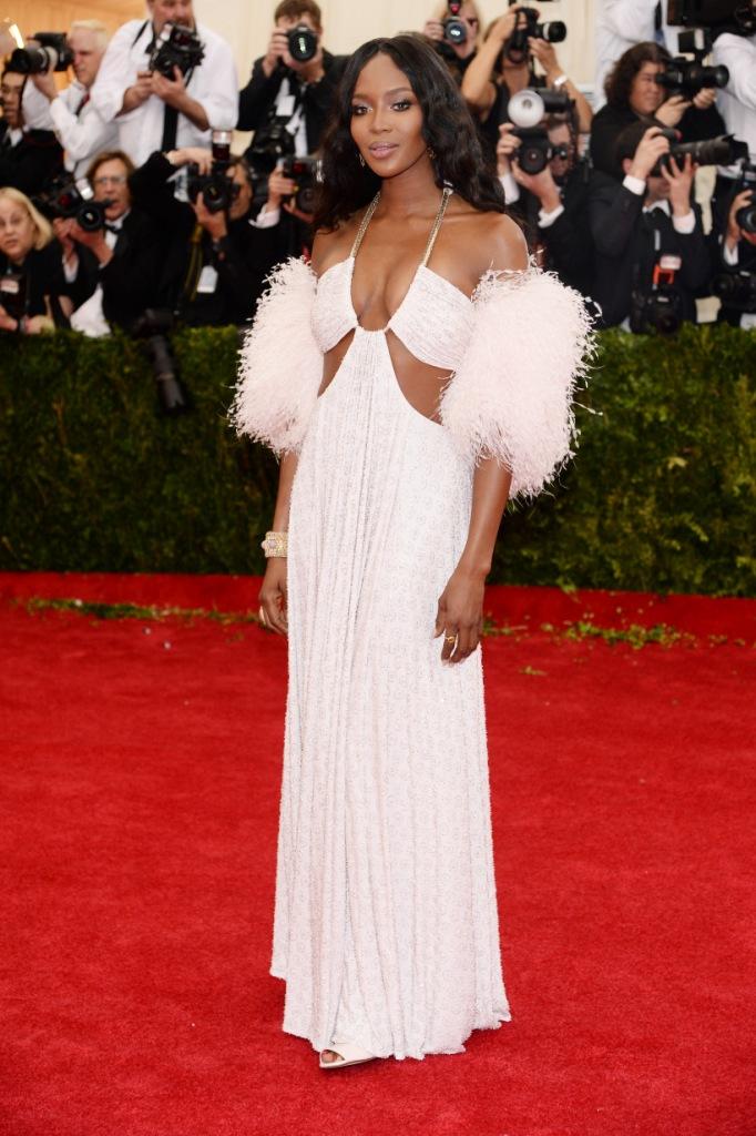 Наоми Кэмпбелл в Givenchy