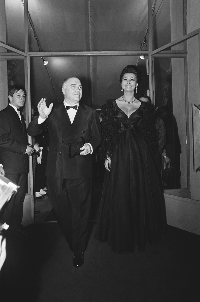 Софи Лорен и Карло Понти, 1966