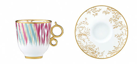 Новая коллекция посуды от Hermès | галерея [1] фото [4]