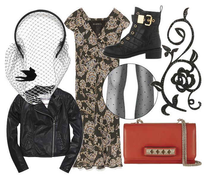 Как одеться на рок-концерт: роковая женщина