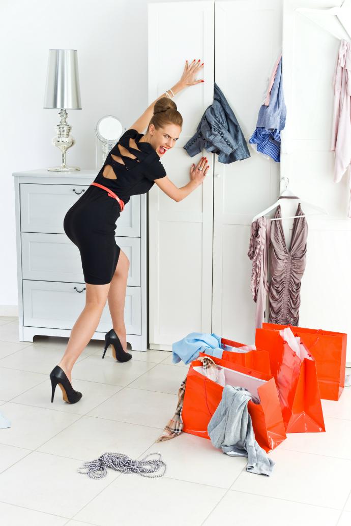 Как упорядочить хаос в гардеробе