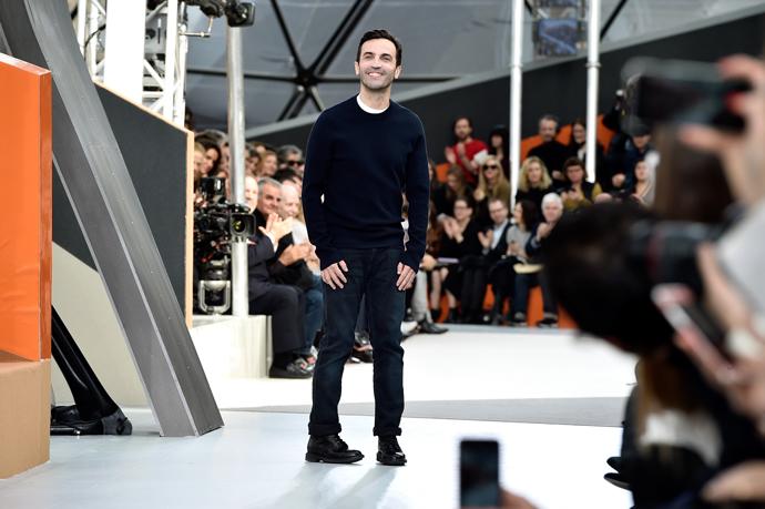 Неделя моды в Париже: гости показа Louis Vuitton