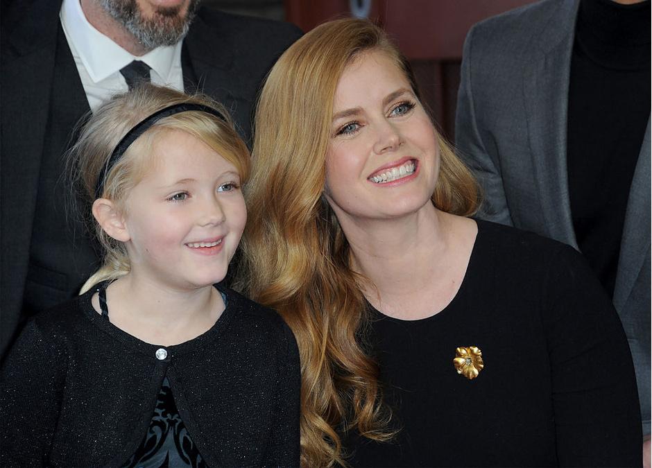 Эми Адамс с дочерью Арианой