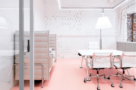 Жизнерадостный интерьер офиса: проект в деталях | галерея [1] фото [10]