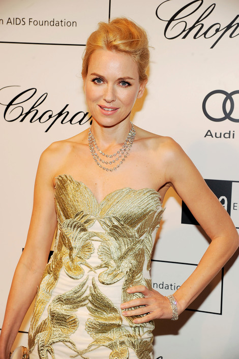 Naomi Watts wearing Chopard
