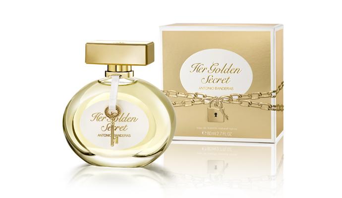 Antonio Banderas представляет аромат Her Golden Secret