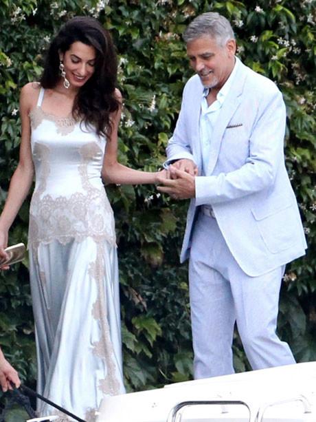 Джордж и Амаль Клуни отдыхают в Италии