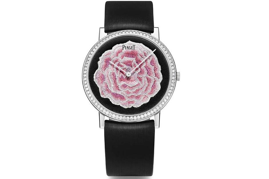 Часы Altiplano, белое золото, бриллианты, Piaget, цена по запросу.