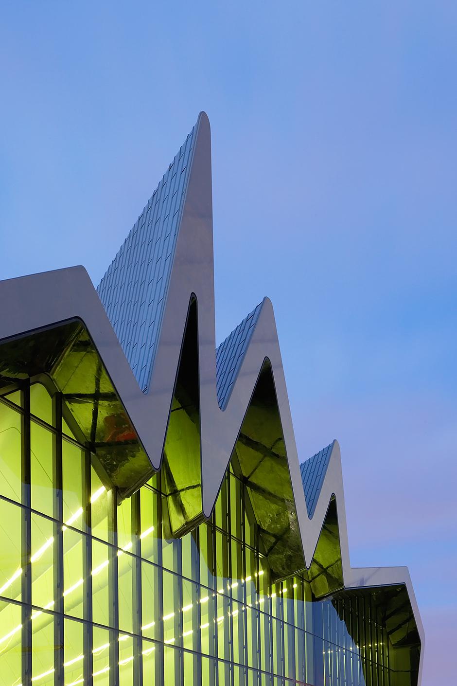 Музей транспорта Riverside в Глазго
