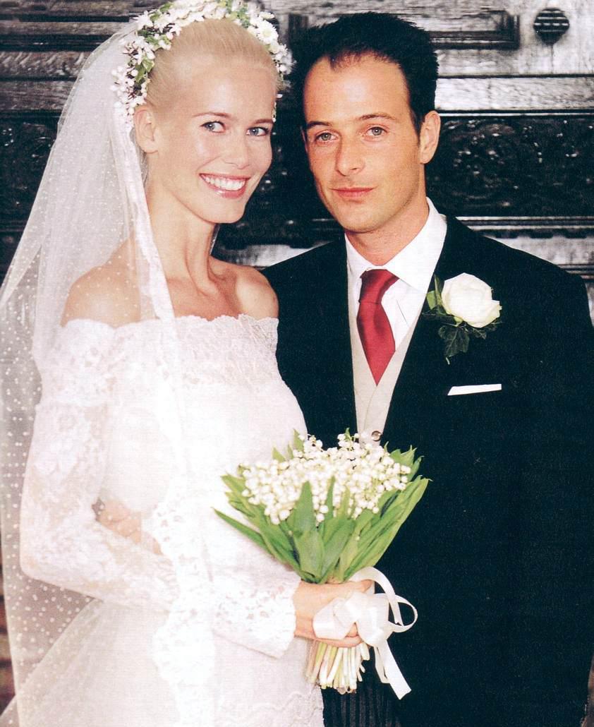 Свадьба Клаудии Шиффер