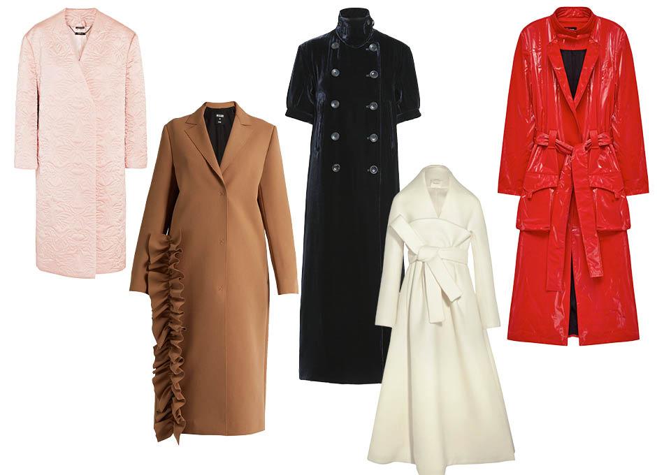 20 самых красивых вечерних пальто этого сезона
