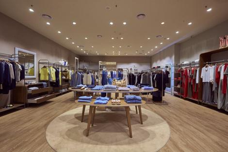 Viva, Italia: в Москве открылся новый бутик Stefanel | галерея [1] фото [4]
