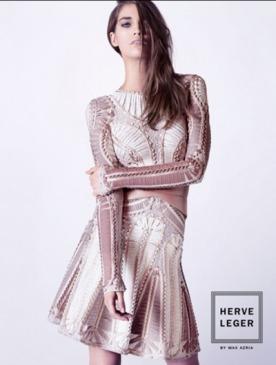 Herve Leger представил рекламную кампанию коллекции весна-лето 2013