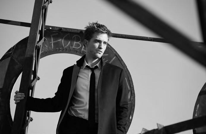 Роберт Паттинсон в новой рекламной кампании Dior Homme Eau for Men