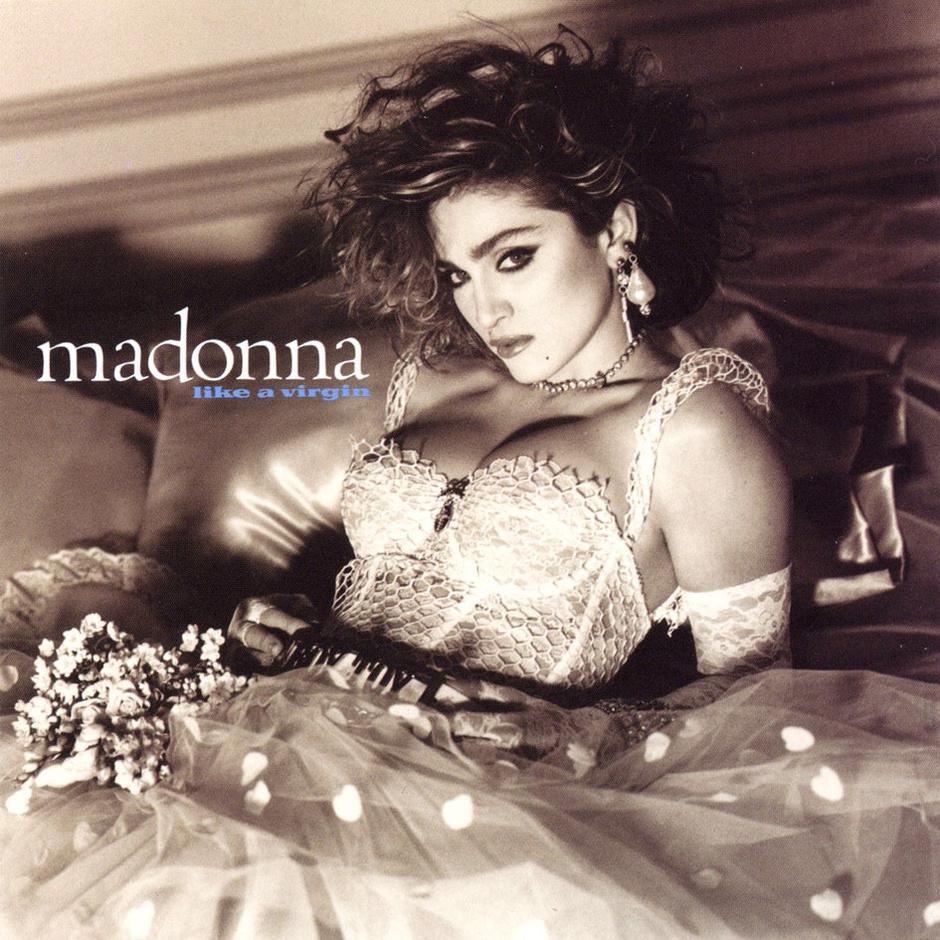 Album cover «Like a virgin», 1984